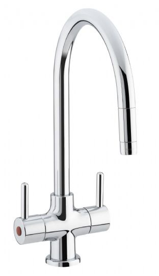 Beeline Monobloc Sink Mixer with Pull Out Nozzle